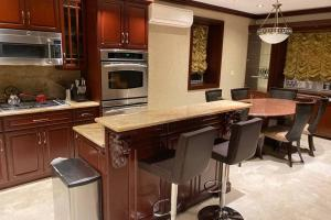 A kitchen or kitchenette at The Lions Den Villa - Luxury Living in NYC