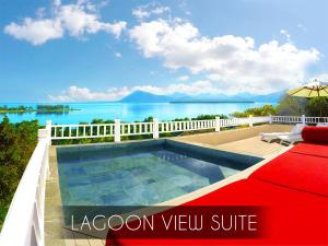 The swimming pool at or near Kozy Le Morne