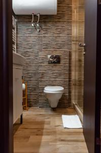 A bathroom at Mala Sava Apartmani