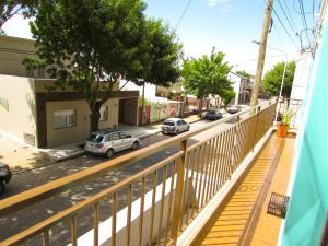 Svalir eða verönd á Casa Buena Vista Tandil