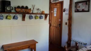 Una cocina o kitchenette en El Aguila