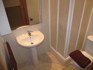 A bathroom at Apartments HHB