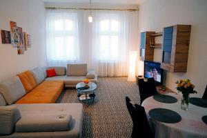 Posezení v ubytování City centre apartment Demio