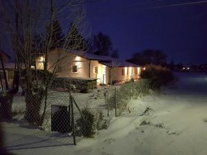 Eidsvoll room during the winter