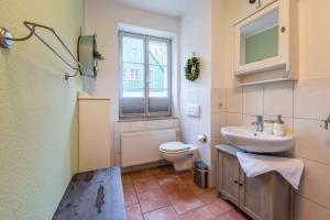 A bathroom at Villa Monsei