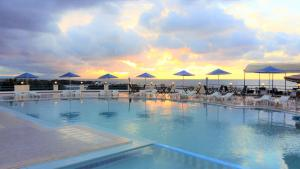 The swimming pool at or near Zorbas Beach Village Hotel