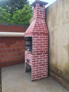 Barbacoa disponible para clientes en el apartamento