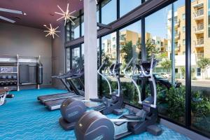 The fitness center and/or fitness facilities at Sonder — Texas Suites
