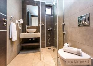 A bathroom at Ledra Maleme Hotel