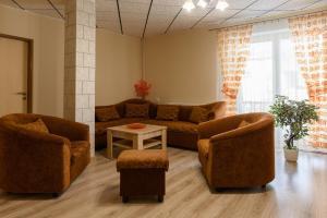 Posezení v ubytování Apartman Elegant