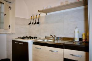 Cucina o angolo cottura di Pompei House
