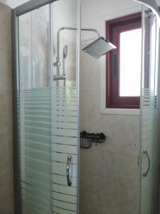 A bathroom at Calderimi Lefkada