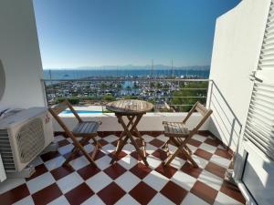 A balcony or terrace at Son Veri D'Abaix