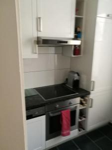 Küche/Küchenzeile in der Unterkunft Herrschaftliche Wohnung