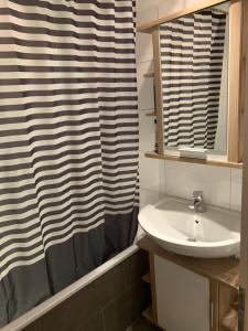 Ein Badezimmer in der Unterkunft Gemütliche Wohnung