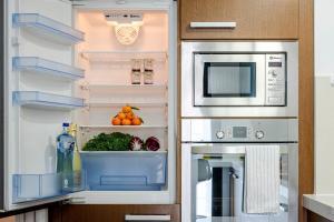 Una cocina o zona de cocina en Gracia Bas Apartments Barcelona