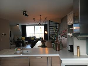 A kitchen or kitchenette at ABC Apartment