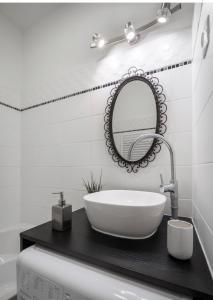 Ein Badezimmer in der Unterkunft Downtown Váci- Fashion Street