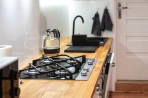 Kuchyň nebo kuchyňský kout v ubytování Gabi Apartament Zakopane
