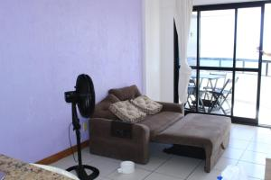 A seating area at FLAT A BEIRA Mar BAHIA SUITES