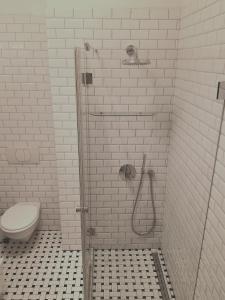 Ein Badezimmer in der Unterkunft Basilica Central Apartment