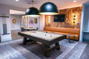 A pool table at The Core at Lindbergh