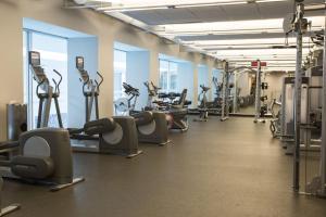 Gimnasio o instalaciones de fitness de Stay Alfred on Washington Street