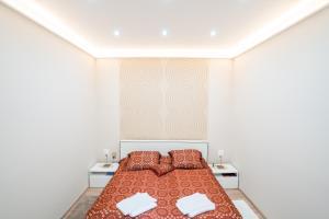 Posteľ alebo postele v izbe v ubytovaní Clean, Quiet & Cozy in the middle of Downtown