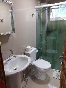 A bathroom at Apartamento 2700 Camboriu