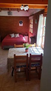 Una cama o camas en una habitación de Casa Sur