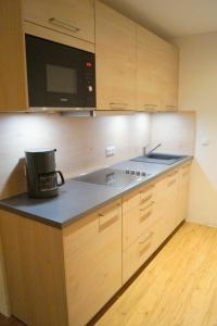 Küche/Küchenzeile in der Unterkunft Gästehaus Greiter