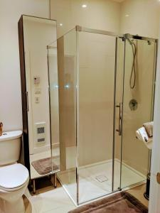 A bathroom at Chez Tama dans la Petite-Patrie
