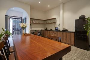 A kitchen or kitchenette at Oriental Danang