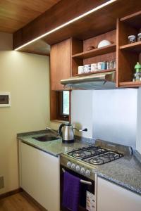 Una cocina o kitchenette en Departamento Vivero