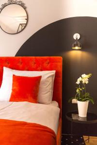 Cama o camas de una habitación en City Stay Vienna – Lugeck
