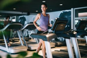 The fitness center and/or fitness facilities at Golden Prague Residence