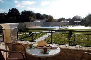 The swimming pool at or near Liostasi