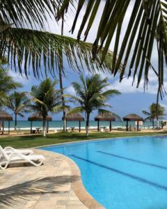A piscina localizada em Ancorar Porto de Galinhas Flats ou nos arredores