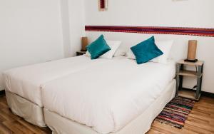 Cama o camas de una habitación en Apartamento en 1er Piso