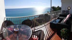 Балкон или терраса в Carabeo Vista Mar