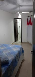 Cama o camas de una habitación en Residencial Wolff