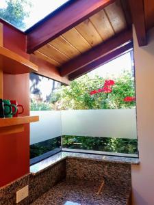Un balcón o terraza en Casa Pérez