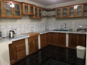 Una cocina o zona de cocina en La Casa de Eliana
