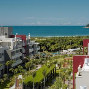 A bird's-eye view of Apartamento em Frente à Ilha do Campeche!
