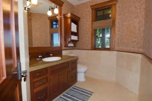 A bathroom at Hale Lani - Custom Built Ocean view Home on Golf Course with A/C