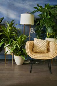 A seating area at Resolution Suite: Practice Self-Care