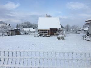 Zrub pri Jazierku during the winter