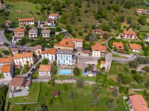 A bird's-eye view of Residence Celeste