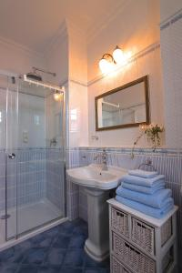 A bathroom at Spree Chalet - adults only