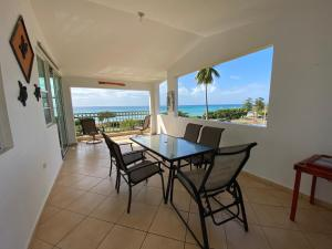 A balcony or terrace at Rincon by the Sea Penthouse
